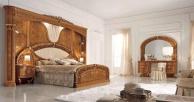 Шикарная кровать для спальни с задней панелью Jasmine  Valderamobili