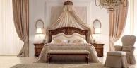 Классическая кровать с короной-балдахином - Luigi XVI Valderamobili