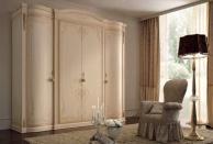 Шкаф слоновая кость - роспись - Lipari