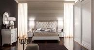 Спальня в белом цвете - стиль арт-деко Primavera  Valderamobili