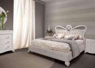 Кровать арт-деко - цвет белый - Италия Primavera  Valderamobili