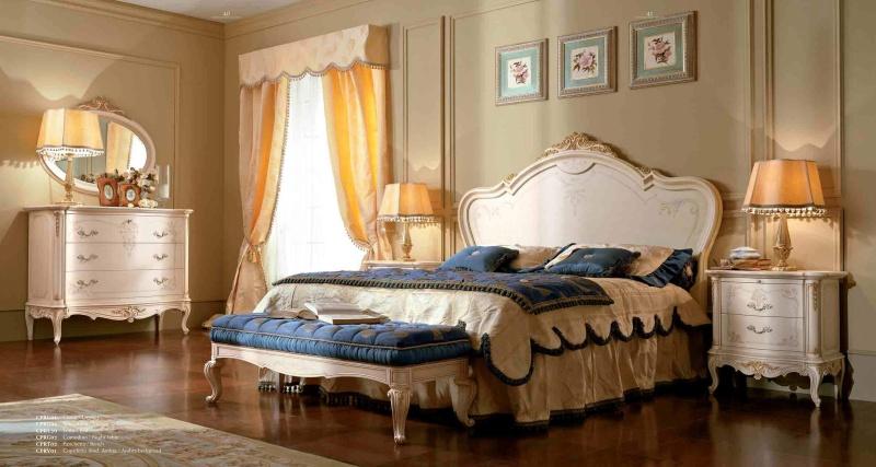 Итальянская мебель для спальни - классика Principe