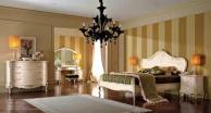 Молочная спальная мебель - модель Principe