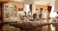 Бежевая гостиная - итальянская мебель Principe