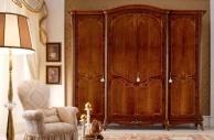 Гардеробный шкаф - цвет орех Principe