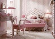 Розовая кровать для детской Италия - Persia
