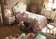 Мебель для детской - кровать розовая - Serena