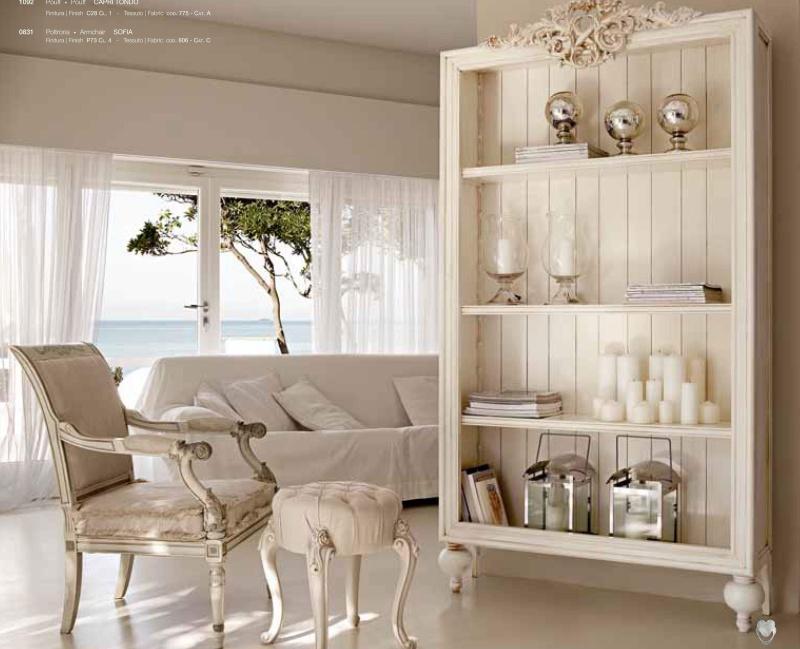Мягкая мебель - обивка белая Day 2011