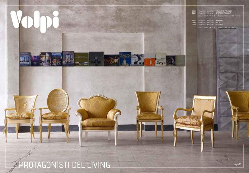 Набор мягкой мебели золотого цвета Day 2011