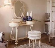 Туалетный столик арт-деко - белый - Night