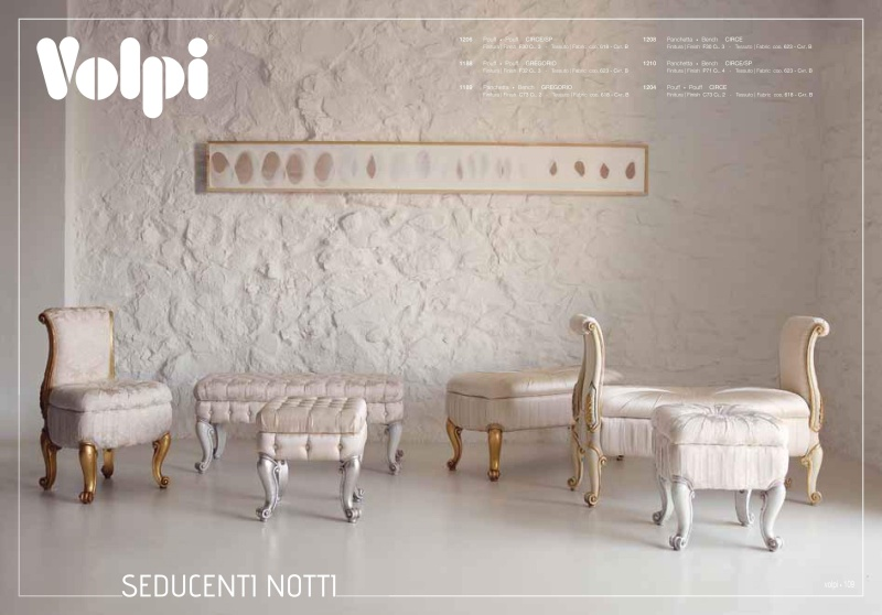 Комплект мягкой итальянской мебели Night 2011