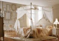 Просторная спальная кровать с балдахином Night 2011