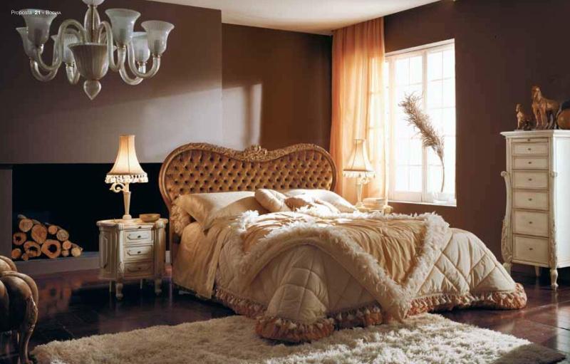 Кровать - спальная с изголовьем в виде сердца Night
