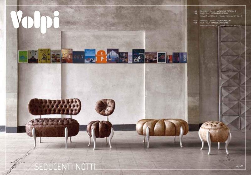 Комплект мягкой мебели из Италии Night 2011