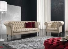 Мягкая мебель в обивке - кожа - Altavilla Mozart