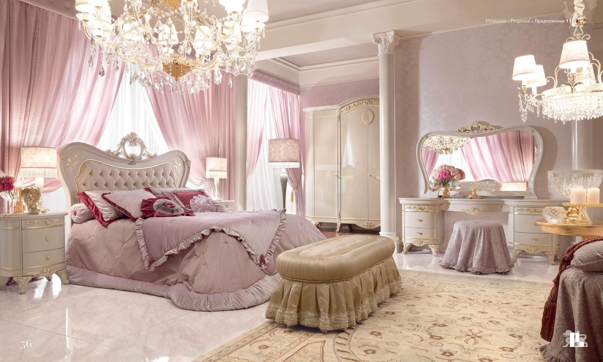 Кровать с мягким изголовьем Barnini Оseo Diamond