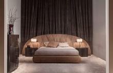 Кровать с мягким изголовьем Signorini Coco - Daytona (Сигнорини Коко Дайтона)