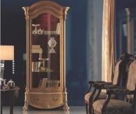 Итальянская золотая витрина с резьбой The Book