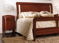 Двухспальная кровать с прикроватной тумбочкой - классика The Book