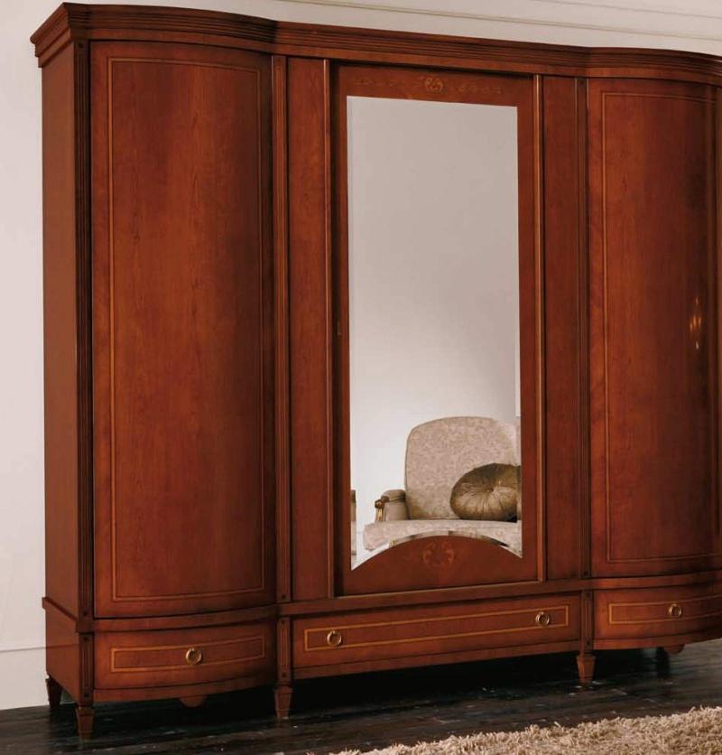 Гардеробный шкаф с зеркалом The Book