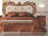 Кровать с ажурным - резным изголовьем и кушетка The Book