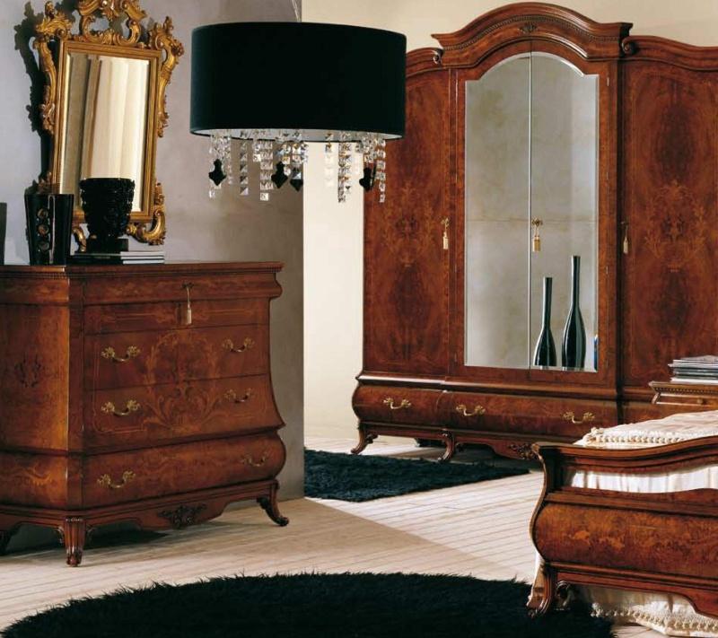 Набор инкрустированой мебели в спальню The Book