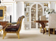 Столовый комплект мебели в стиле - арт - декко The Book