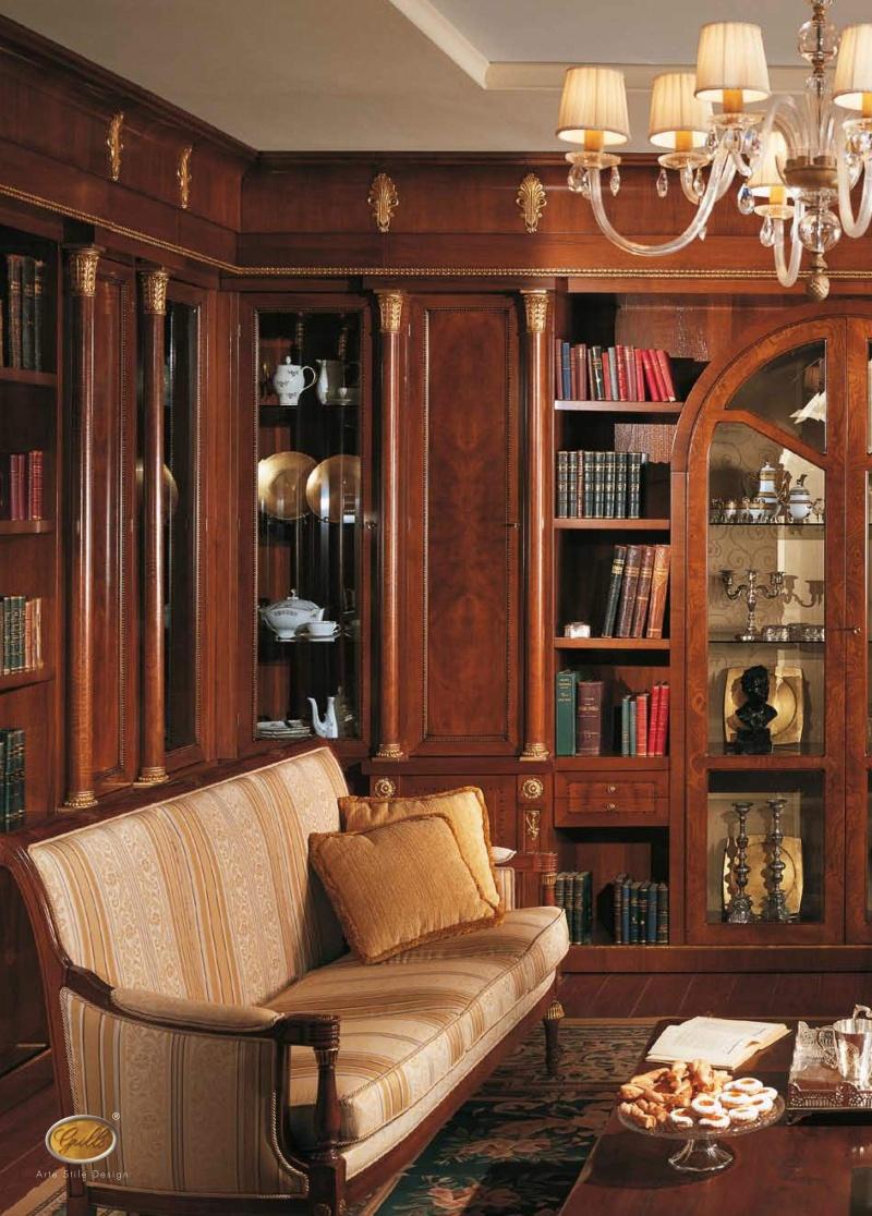 Столовый гарнитур классического стиля из массива The Book