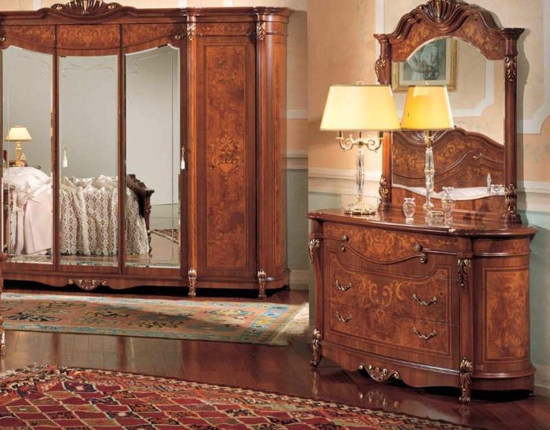 Набор классической мебели в спальню The Book