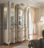 Витрина 3-х дверная - слоновая кость AGM Venezia