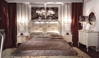 Спальня молочного цвета - стиль неоклассика Antico Borgo Living
