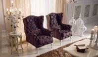 Кресло - фиолетовая обивка - Antico Borgo Living