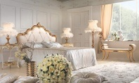 Классическая кровать - изголовье бархат Antonelli Moravio Belvedere
