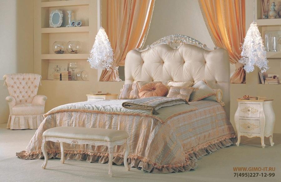 Кровать - цвет бежевый Antonelli Moravio Belvedere