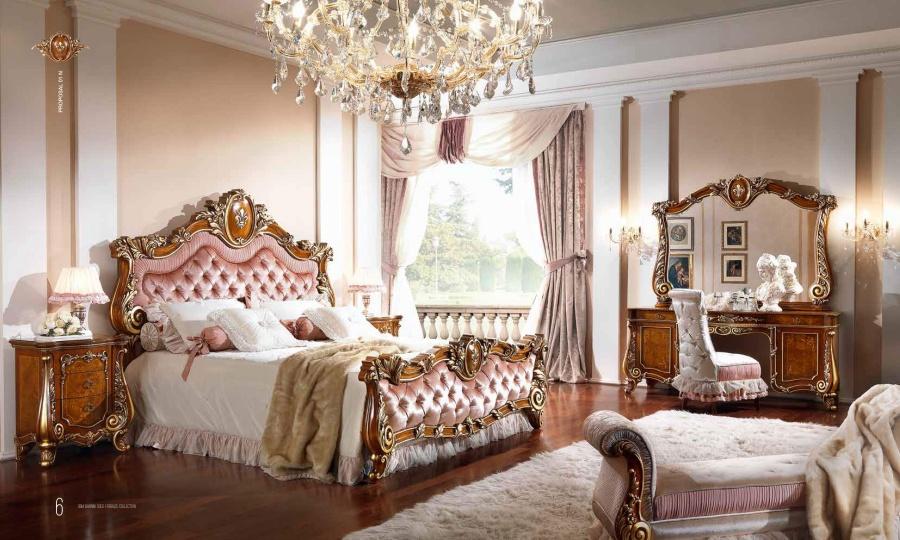 Спальня с ручной резьбой Barnini Oseo Firenze