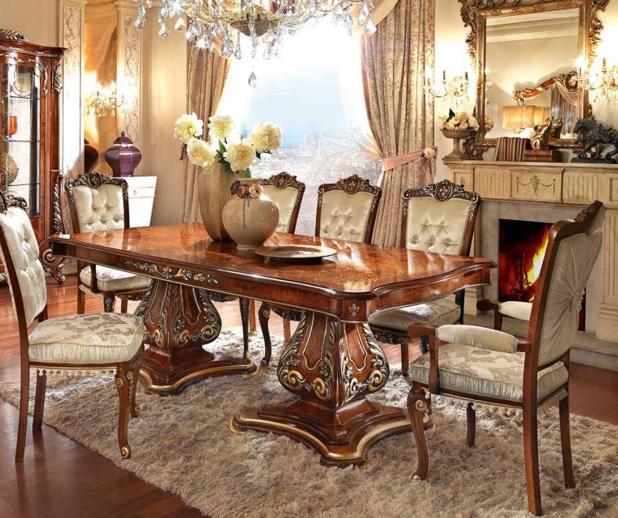 Прямоугольный обеденный стол Barnini Oseo Firenze