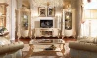 ТВ тумба и витрины - слоновая кость - Barnini Oseo Firenze