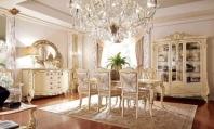 Столовая мебель - слоновая кость с золотом Barnini Oseo Firenze