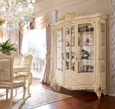 Витрина трех-дверная - слоновая кость - Barnini Oseo Firenze
