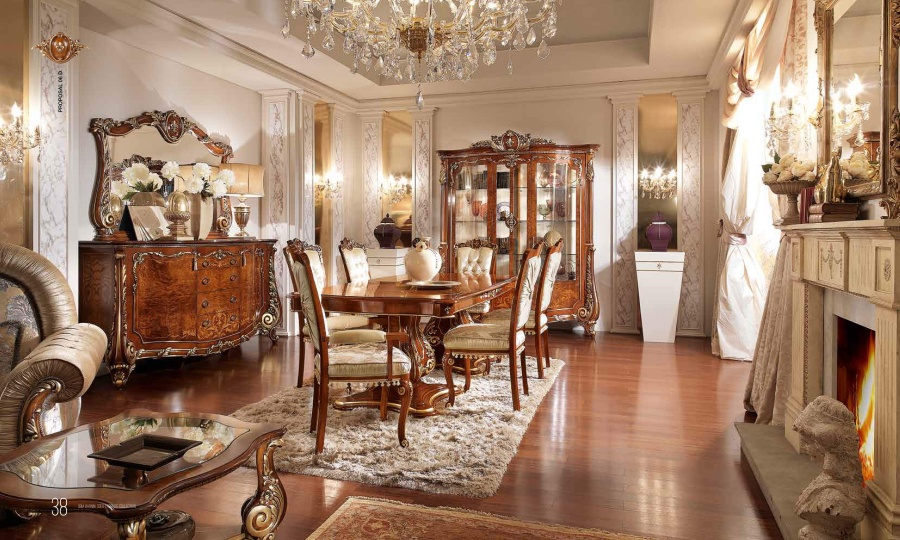 Классическая гостиная мебель - Barnini Oseo Firenze