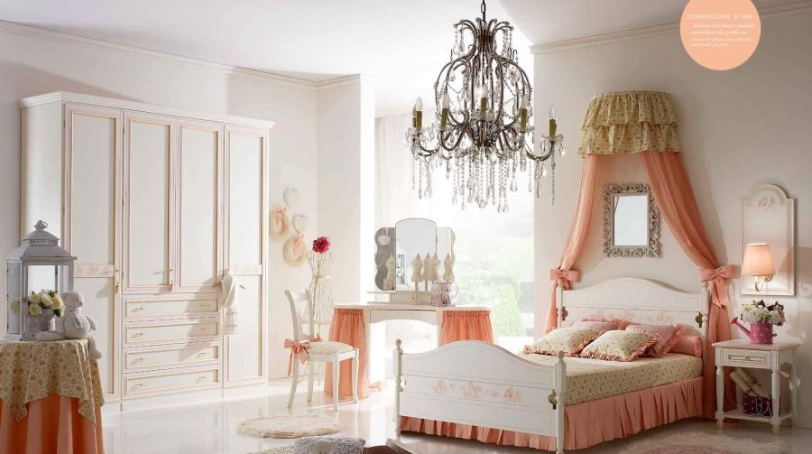 Детская мебель для девочки в классическом стиле Ferretti e Ferretti Happy Night