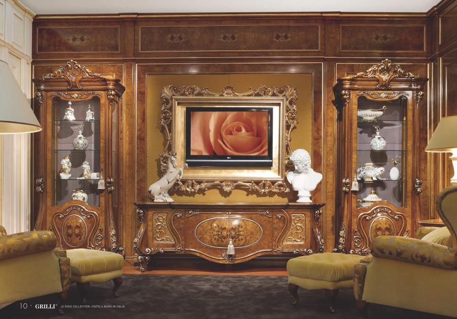 Мебель для ТВ Grilli Le Rose