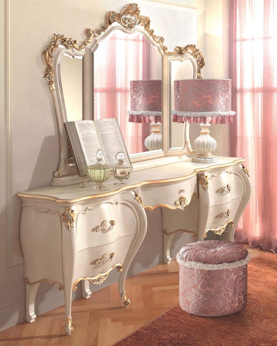 Туалетный стол с зеркалом Signorini Coco Romantica