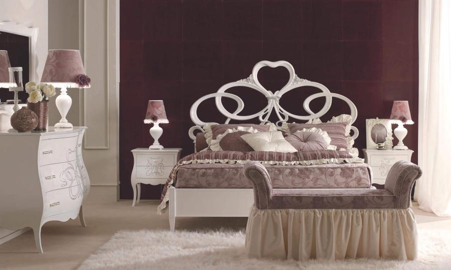 Спальня с рельефным декором ручной работы Signorini Coco Gruppi