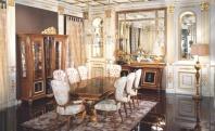 Стол на объемных ножках Signorini Coco La Medicea