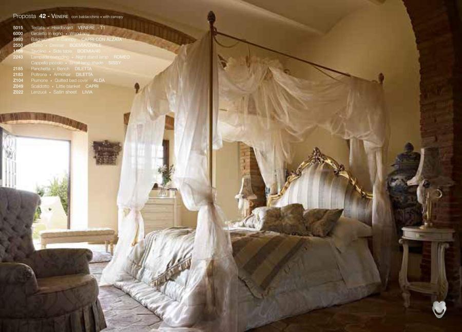 Кровать с балдахином Volpi Venere