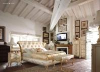 Кровать в обивке капитоне Volpi Capri