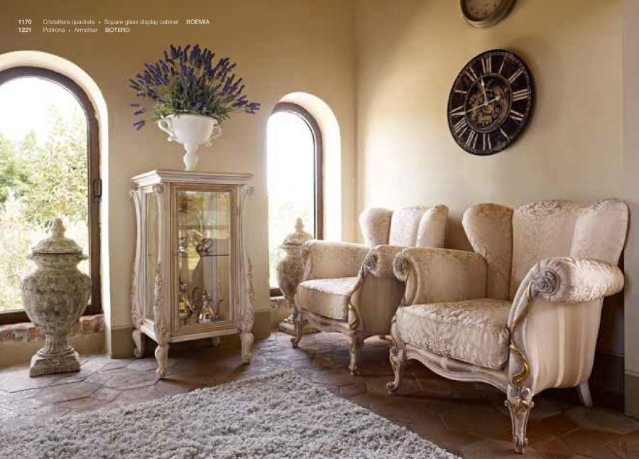 Кресло Volpi Boemia 1221