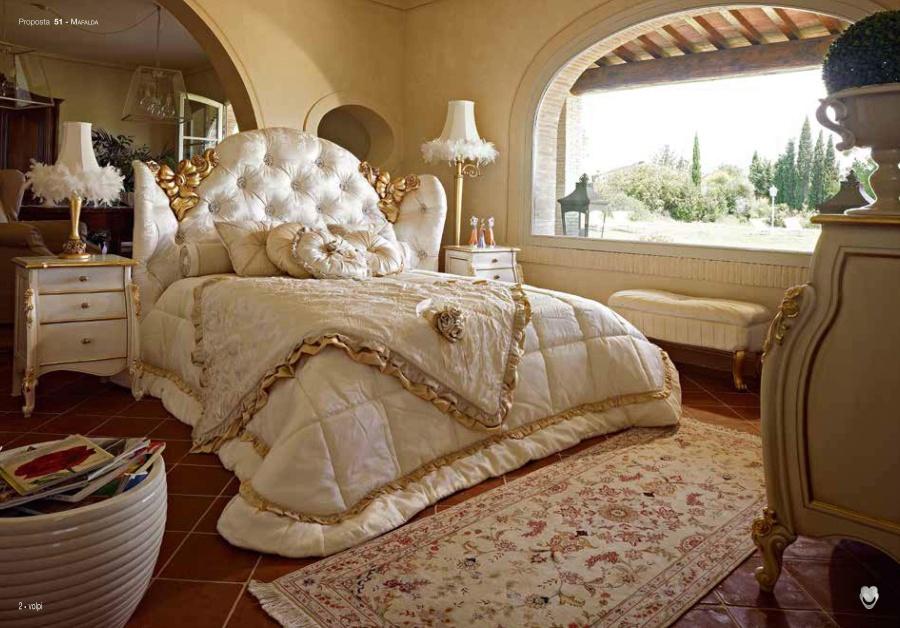 Кровать в спальню Volpi Mafalda