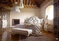 Спальня в отделке слоновая кость Volpi Minerva